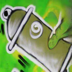 solution pour protéger un mur, sa façade, un support contre les graffitis et faciliter leur nettoyage