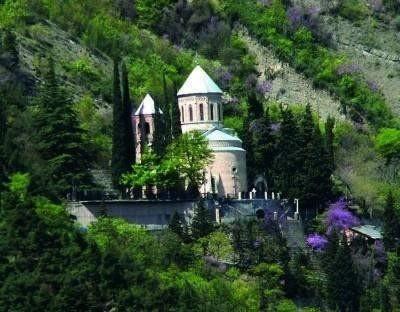 Le Panthéon de Tbilisi, (Géorgie)